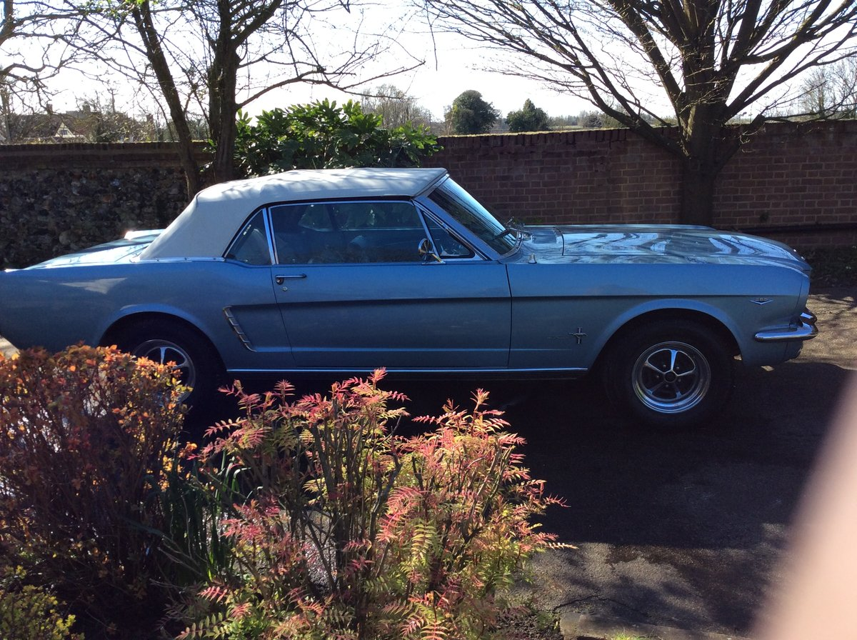 1965 Ford Mustang 289 V8 Convertible SOLD (picture 4 of 6)