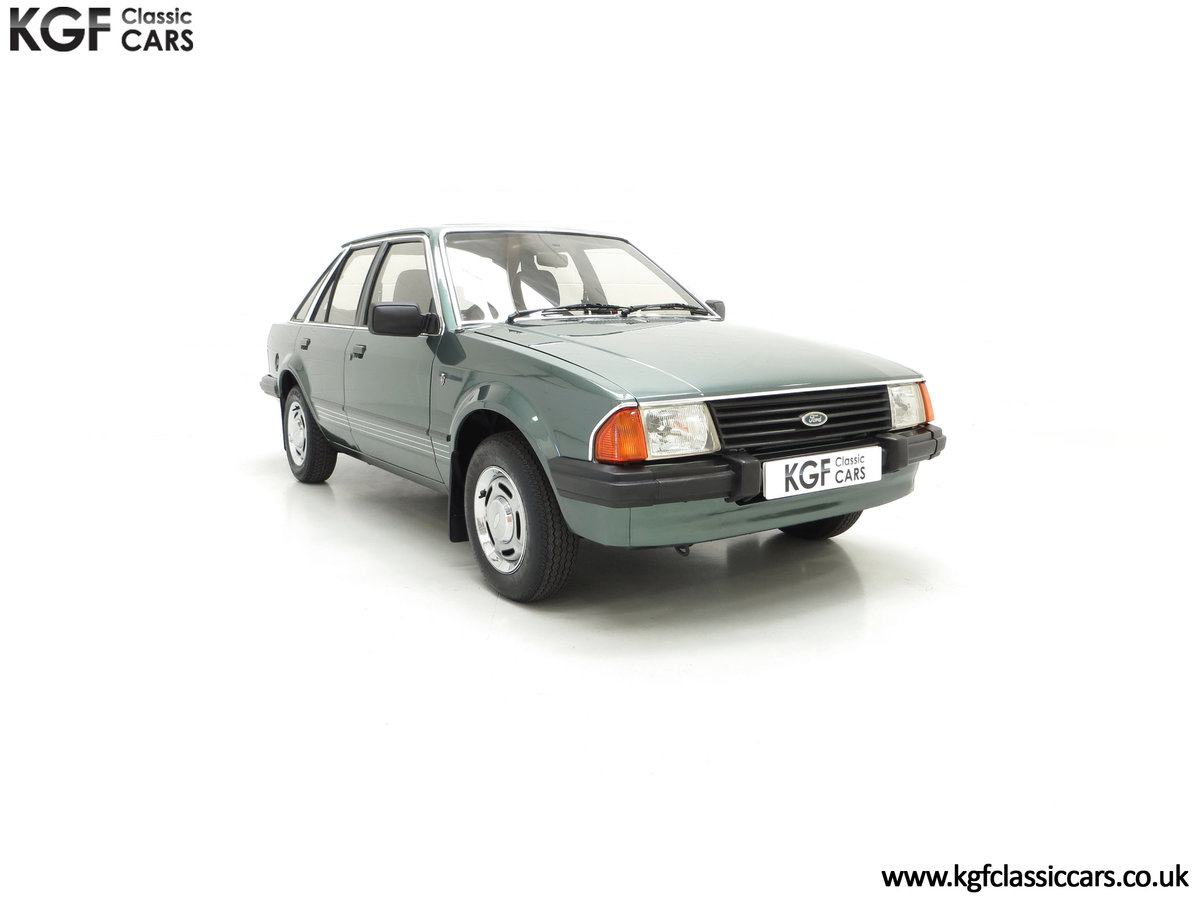 1981 An Early Launch Colour Ford Escort 1.3 Ghia Mk3 Family Owned SOLD (picture 1 of 24)