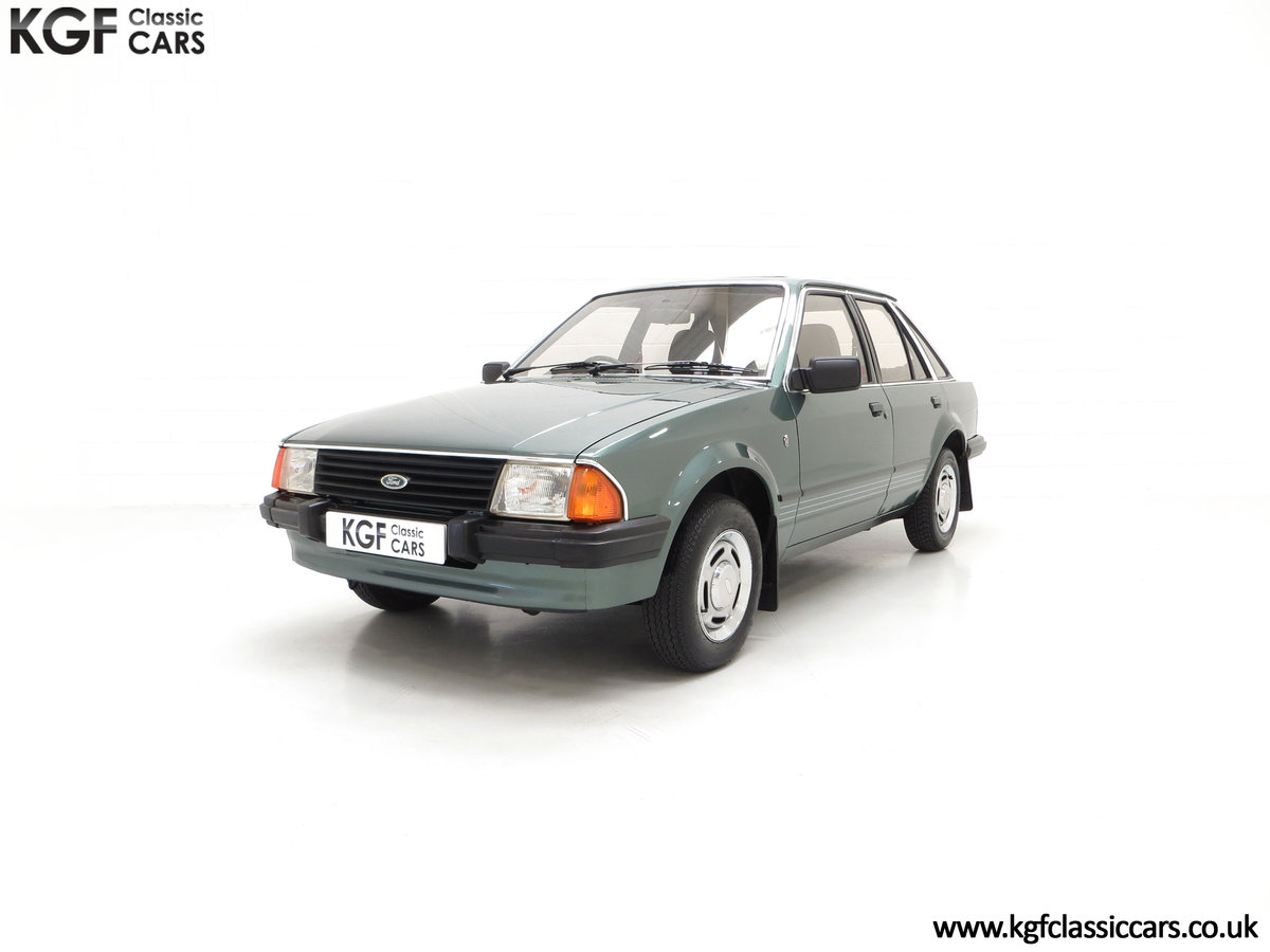 1981 An Early Launch Colour Ford Escort 1.3 Ghia Mk3 Family Owned SOLD (picture 6 of 24)