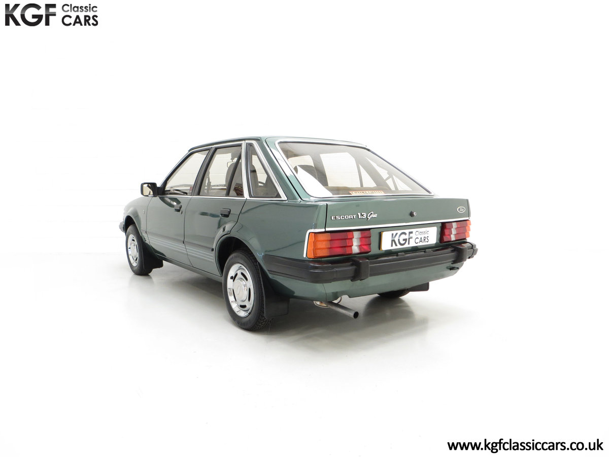1981 An Early Launch Colour Ford Escort 1.3 Ghia Mk3 Family Owned SOLD (picture 8 of 24)