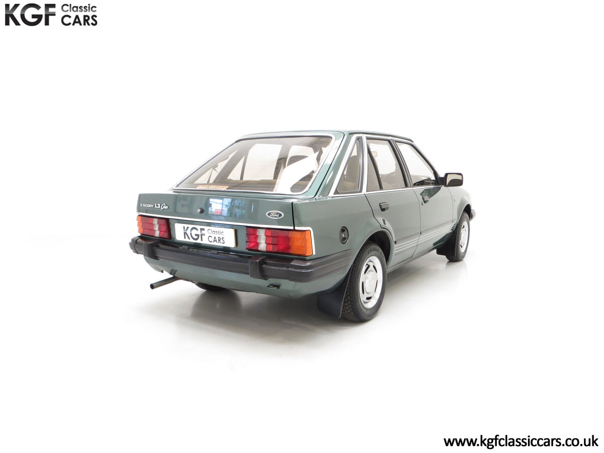 1981 An Early Launch Colour Ford Escort 1.3 Ghia Mk3 Family Owned SOLD (picture 12 of 24)