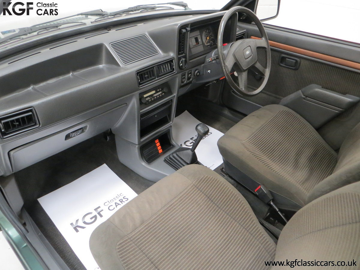 1981 An Early Launch Colour Ford Escort 1.3 Ghia Mk3 Family Owned SOLD (picture 18 of 24)