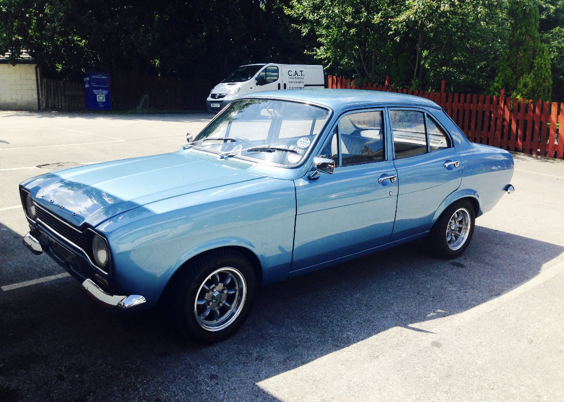 1971 STUNNING ESCORT MK1 🚘 - Retro Mag featured For Sale (picture 1 of 6)