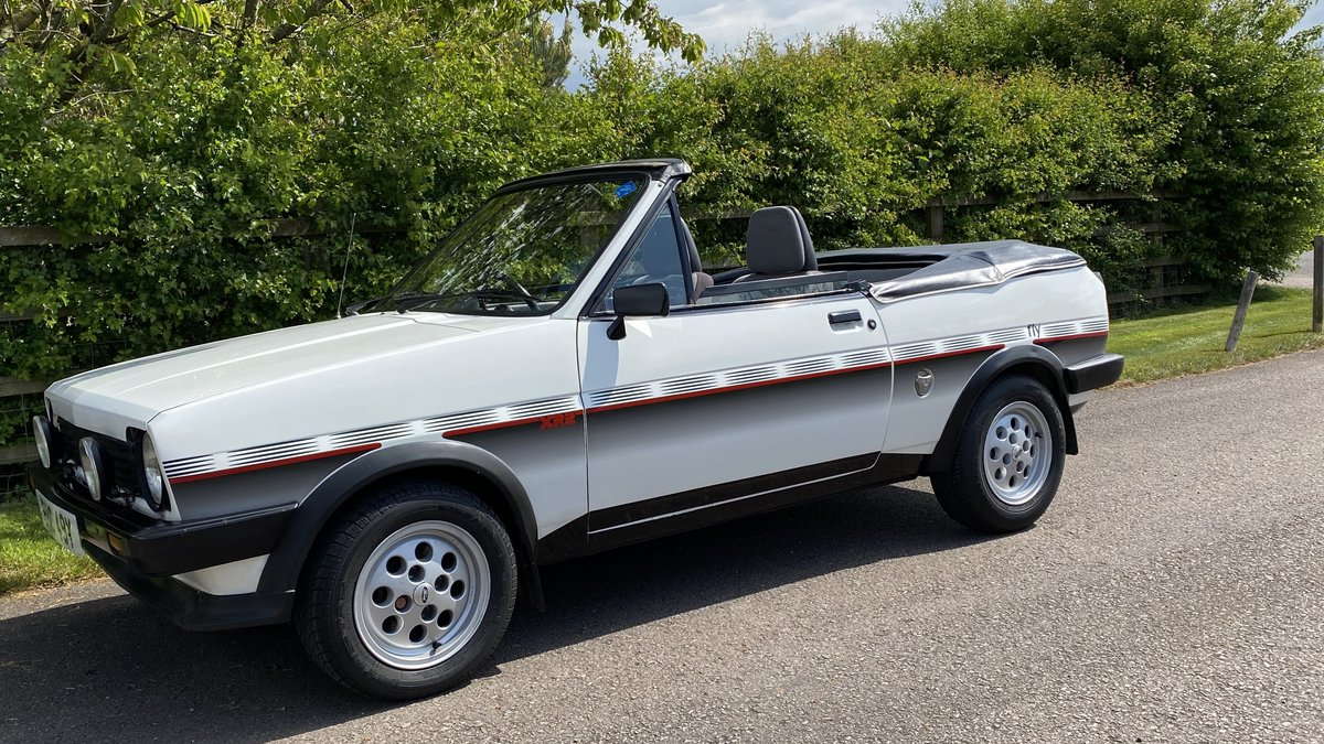 1983 Ford Fiesta XR2-Fly-Crayford convertible-Incredibly Rare. For Sale (picture 1 of 6)