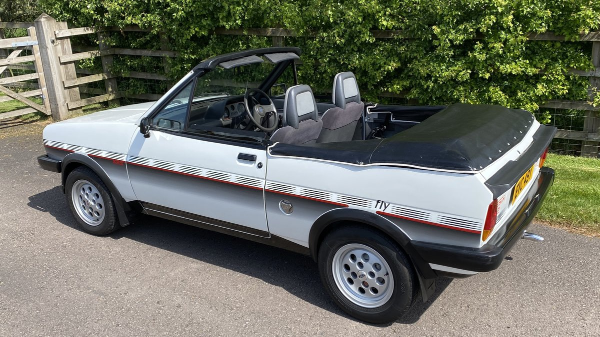 1983 Ford Fiesta XR2-Fly-Crayford convertible-Incredibly Rare. For Sale (picture 2 of 6)