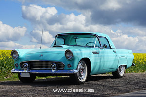 1955 Very nice Ford Thunderbird with hardtop and soft top For Sale