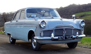 1960 Ford Zodiac MK2 Lowline, Grey over pompadour Blue For Sale
