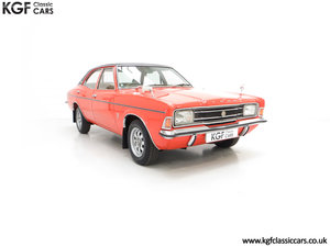1973 An Astonishing Ford Cortina Mk3 2000E with 25,105 Miles SOLD