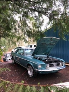 1968 Ford Mustag 2Dr.