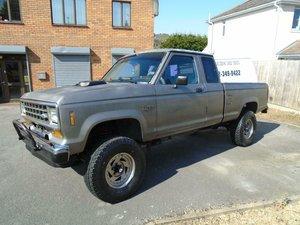 1988 FORD RANGER 2.9 V6 4X4 XLT MANUAL LHD PICKUP SOLD