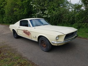1968 Ford Mustang Fastback V8 and four speed project  For Sale