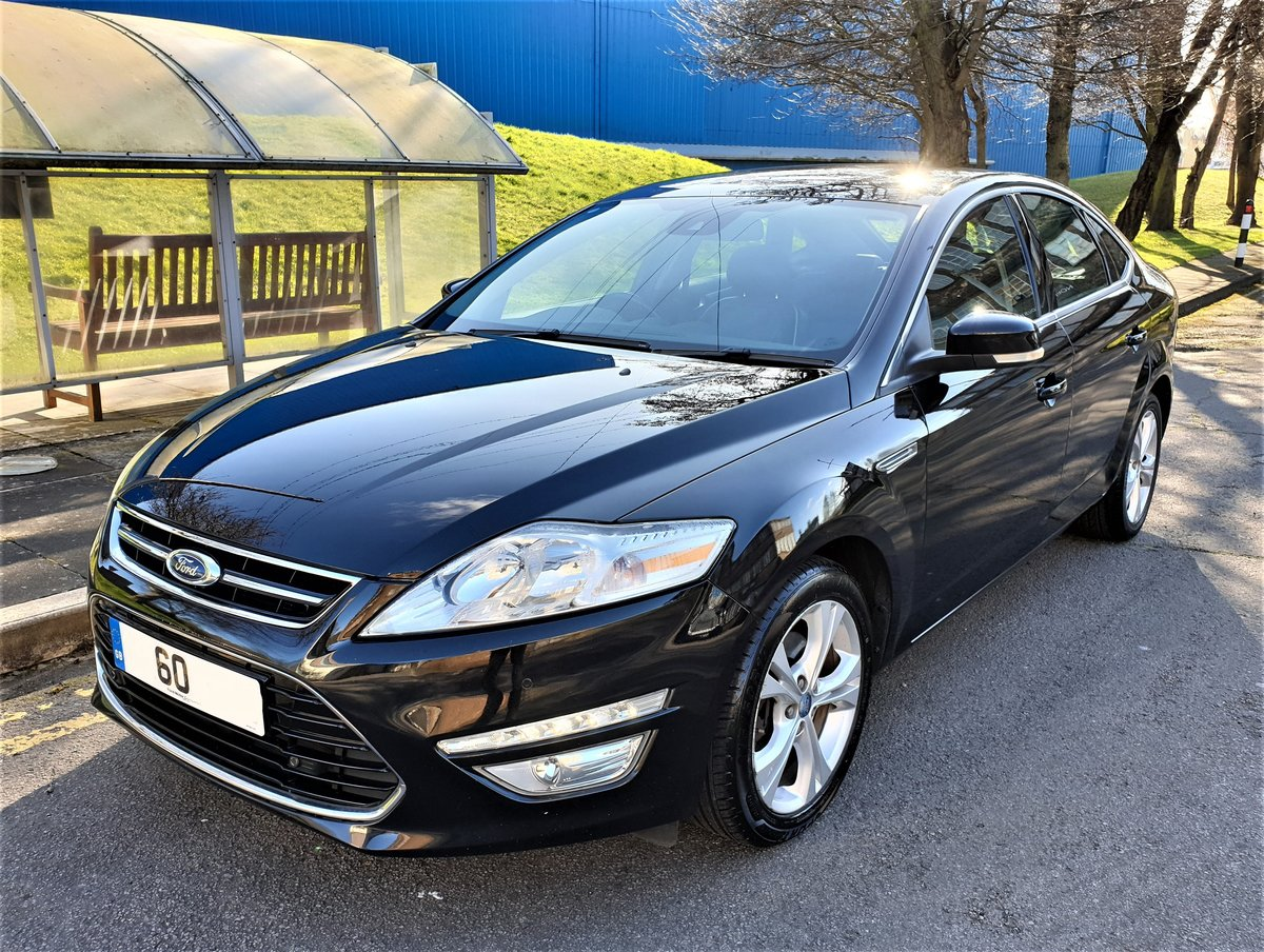 2010 60 Plate Mondeo Titanium, Turbo diesel 140hp, full leather For Sale (picture 1 of 6)