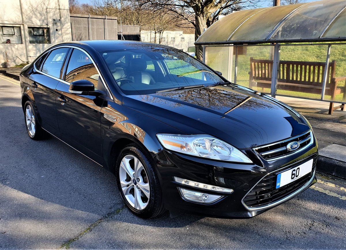 2010 60 Plate Mondeo Titanium, Turbo diesel 140hp, full leather For Sale (picture 2 of 6)
