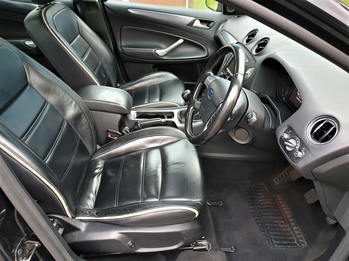 2010 60 Plate Mondeo Titanium, Turbo diesel 140hp, full leather For Sale (picture 4 of 6)