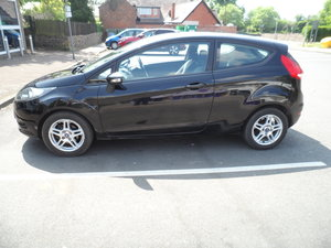 3 DOOR FIESTA 1250cc PETROL WITH ALLOYS MOT MID DEC 58 PLATE