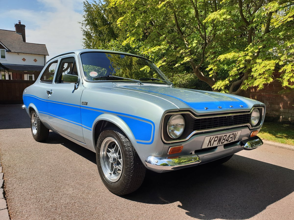 1975 Mk1 escort rs2000 nut and bolt restoration For Sale (picture 1 of 6)