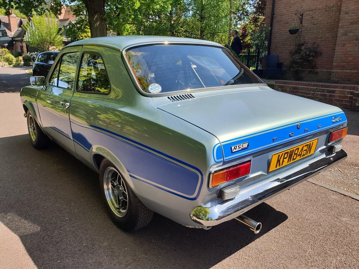 1975 Mk1 escort rs2000 nut and bolt restoration For Sale (picture 2 of 6)