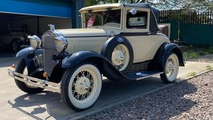 Ford Model A Sport coupe-1931-Rare and beautiful