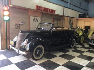 1937 Ford 78 4 Door Convertible Fully Restored Shipping Incl For Sale