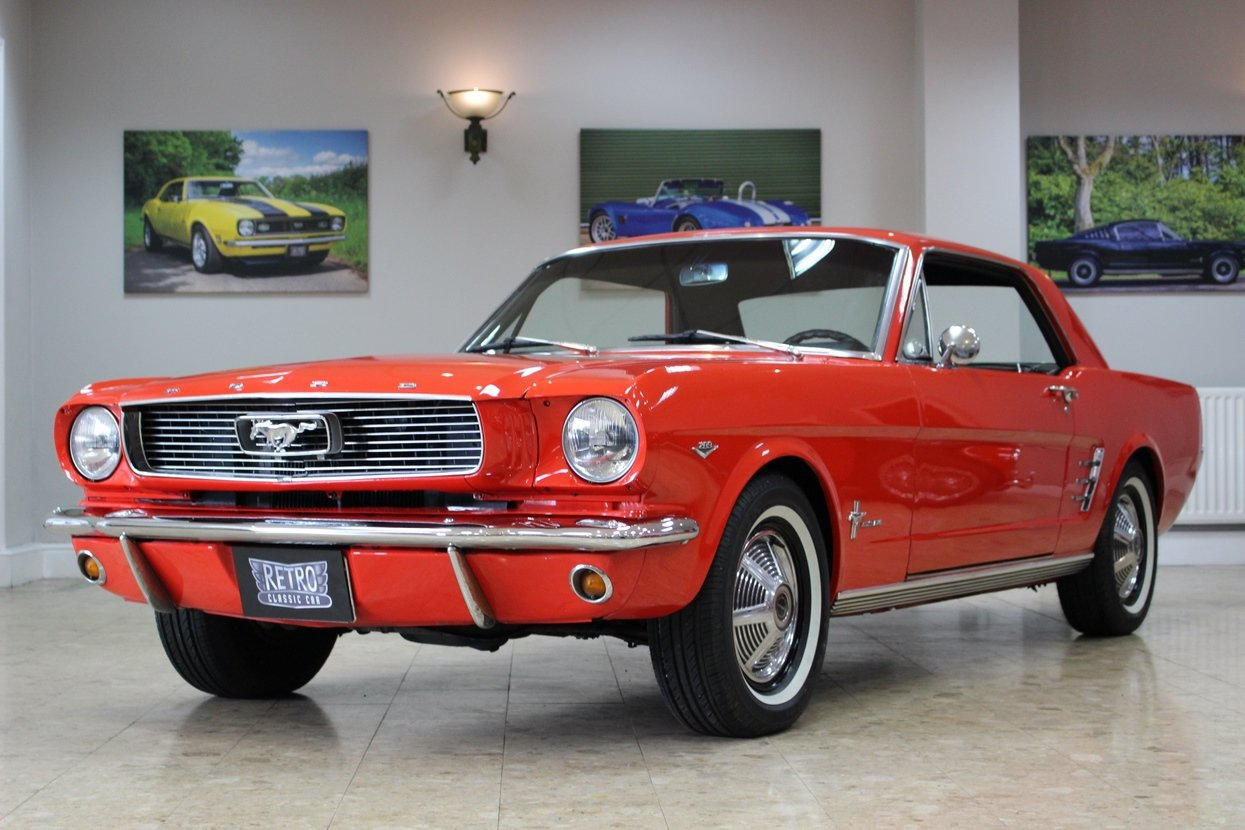 1966 Ford Mustang Coupe 289 V8 | 66,000 Miles Huge History SOLD (picture 1 of 10)