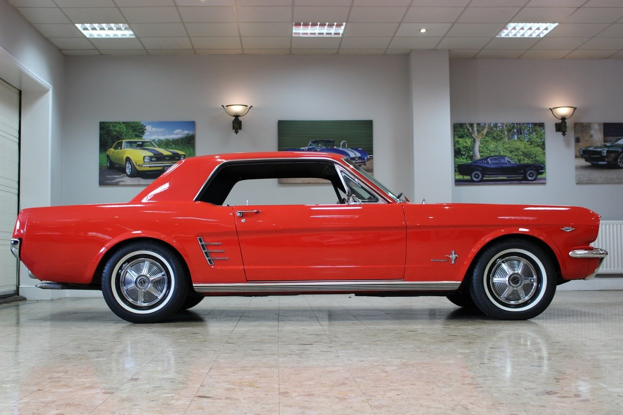 1966 Ford Mustang Coupe 289 V8 | 66,000 Miles Huge History SOLD (picture 2 of 10)