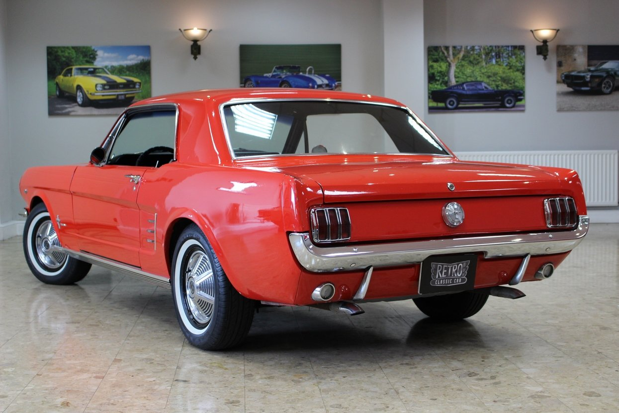 1966 Ford Mustang Coupe 289 V8 | 66,000 Miles Huge History SOLD (picture 3 of 10)