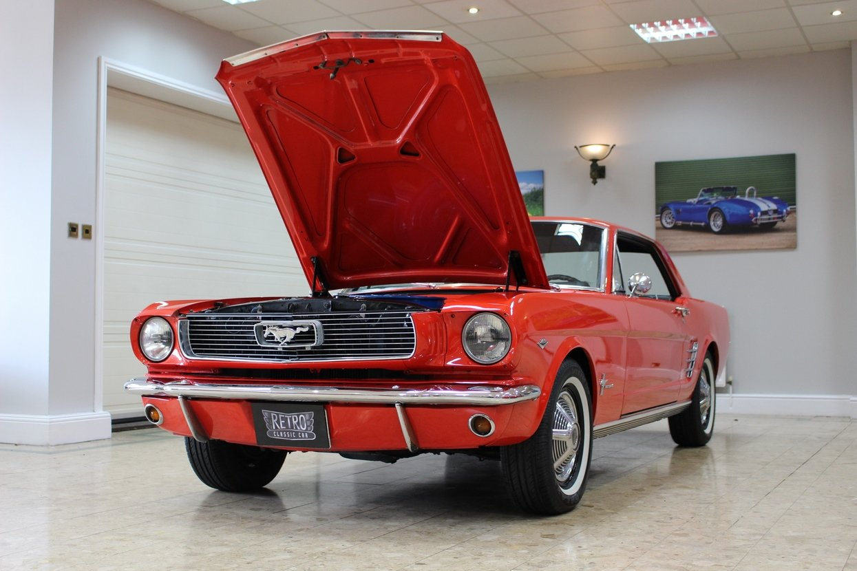 1966 Ford Mustang Coupe 289 V8 | 66,000 Miles Huge History SOLD (picture 5 of 10)