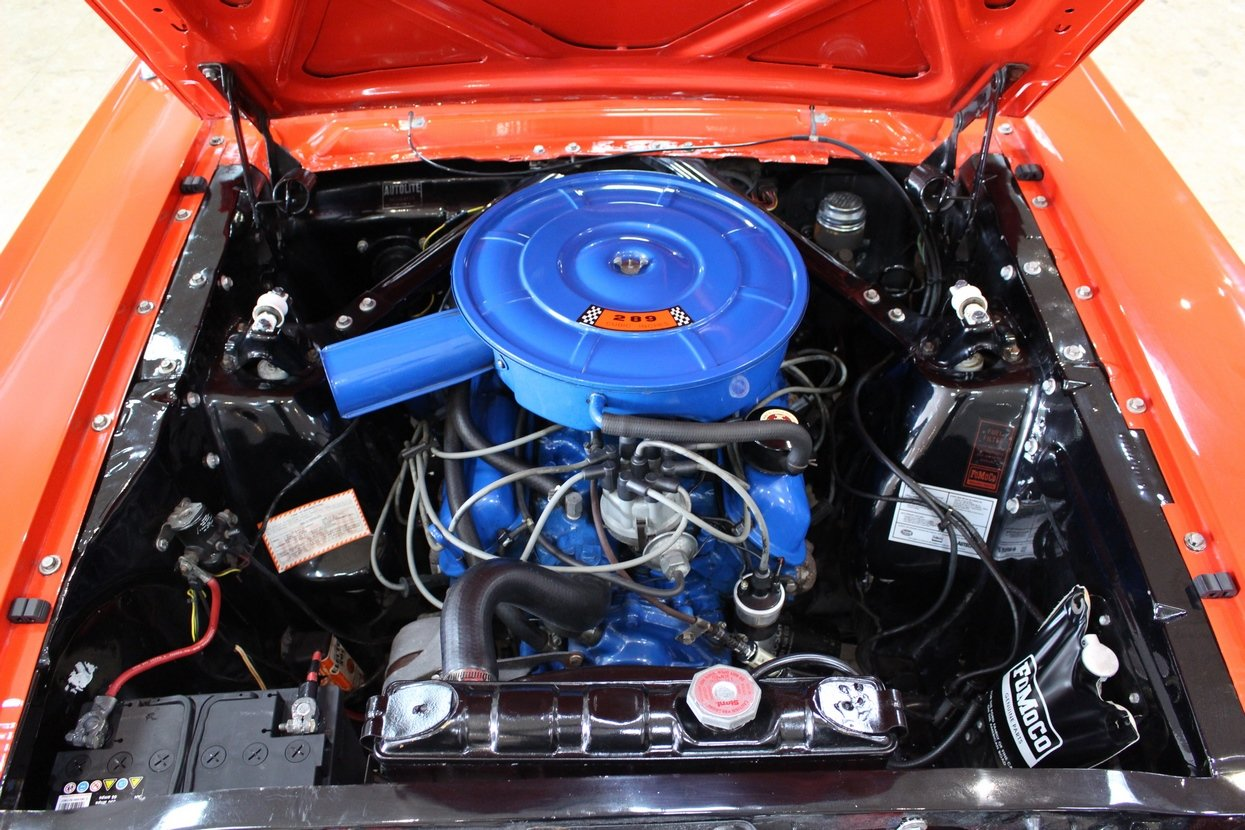 1966 Ford Mustang Coupe 289 V8 | 66,000 Miles Huge History SOLD (picture 6 of 10)