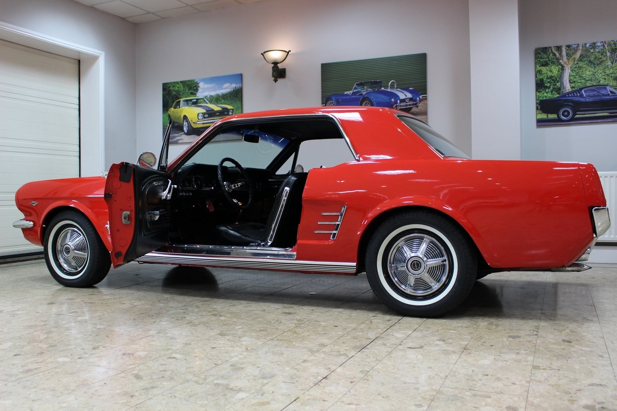 1966 Ford Mustang Coupe 289 V8 | 66,000 Miles Huge History SOLD (picture 7 of 10)