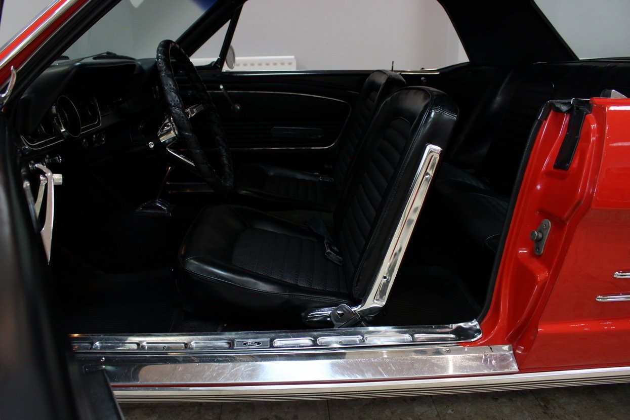 1966 Ford Mustang Coupe 289 V8 | 66,000 Miles Huge History SOLD (picture 8 of 10)
