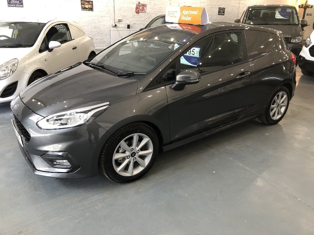 2019 Ford Fiesta Sport Van 1.5L TDCi For Sale (picture 1 of 4)