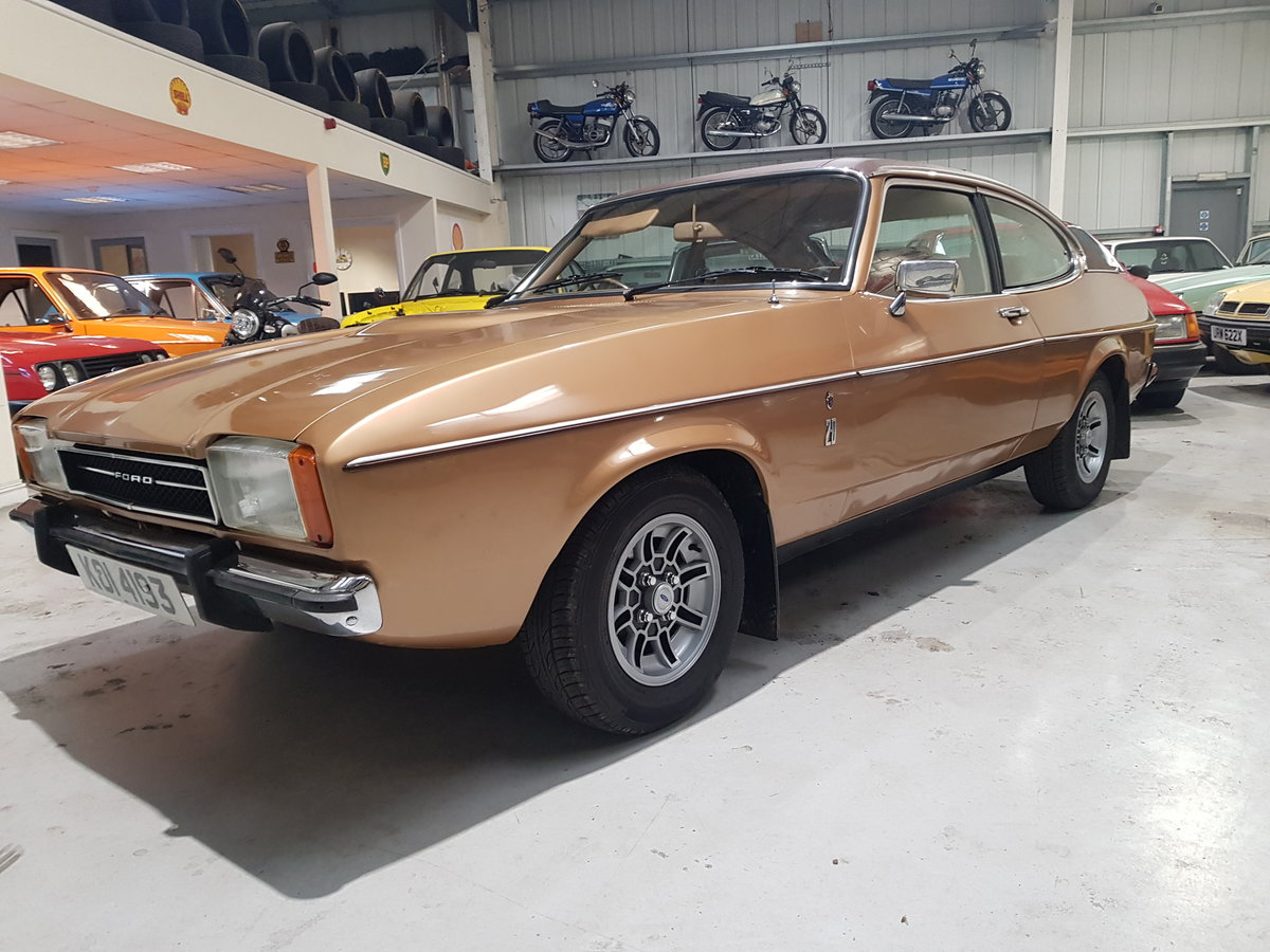 1976 Ford Capri 2.0 Ghia Automatic For Sale (picture 1 of 6)