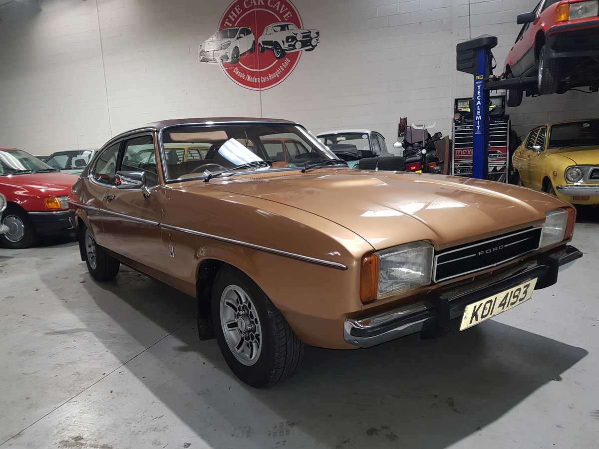 1976 Ford Capri 2.0 Ghia Automatic For Sale (picture 2 of 6)