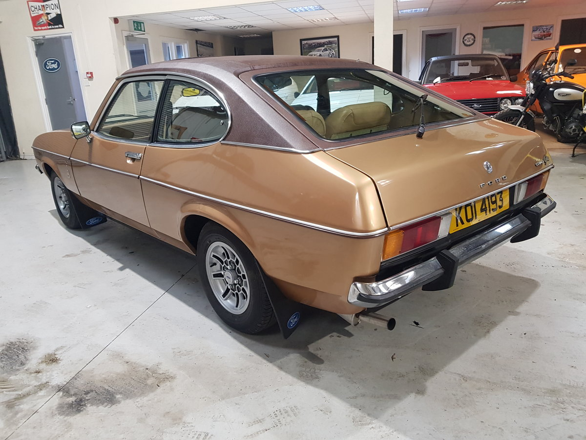 1976 Ford Capri 2.0 Ghia Automatic For Sale (picture 3 of 6)