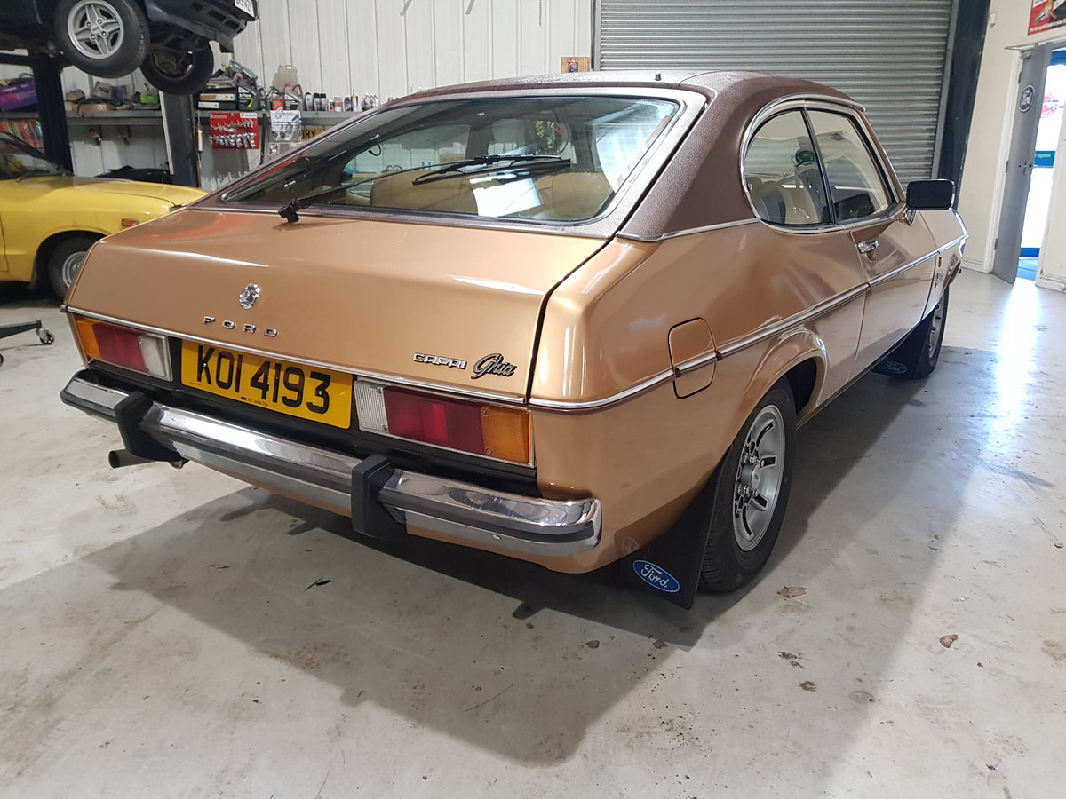 1976 Ford Capri 2.0 Ghia Automatic For Sale (picture 4 of 6)