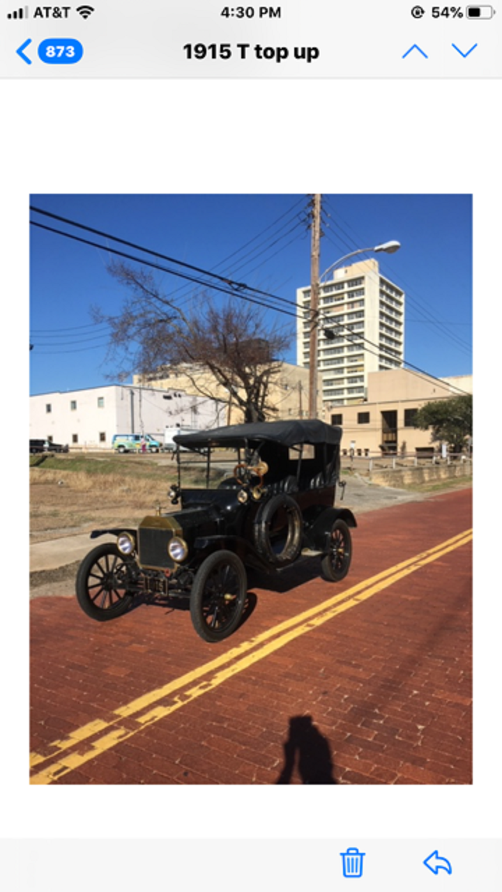 1915 Ford Model T Touring Car For Sale (picture 1 of 1)
