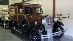 FORD MODEL A DELUXE DELIVERY VAN-1929-CONCOURS STANDARD
