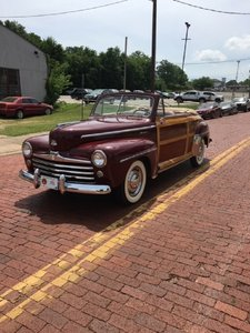 1947 Ford Sportsman Woody Convertible For Sale