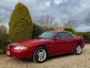 Ford Mustang GT 5 Litre convertible