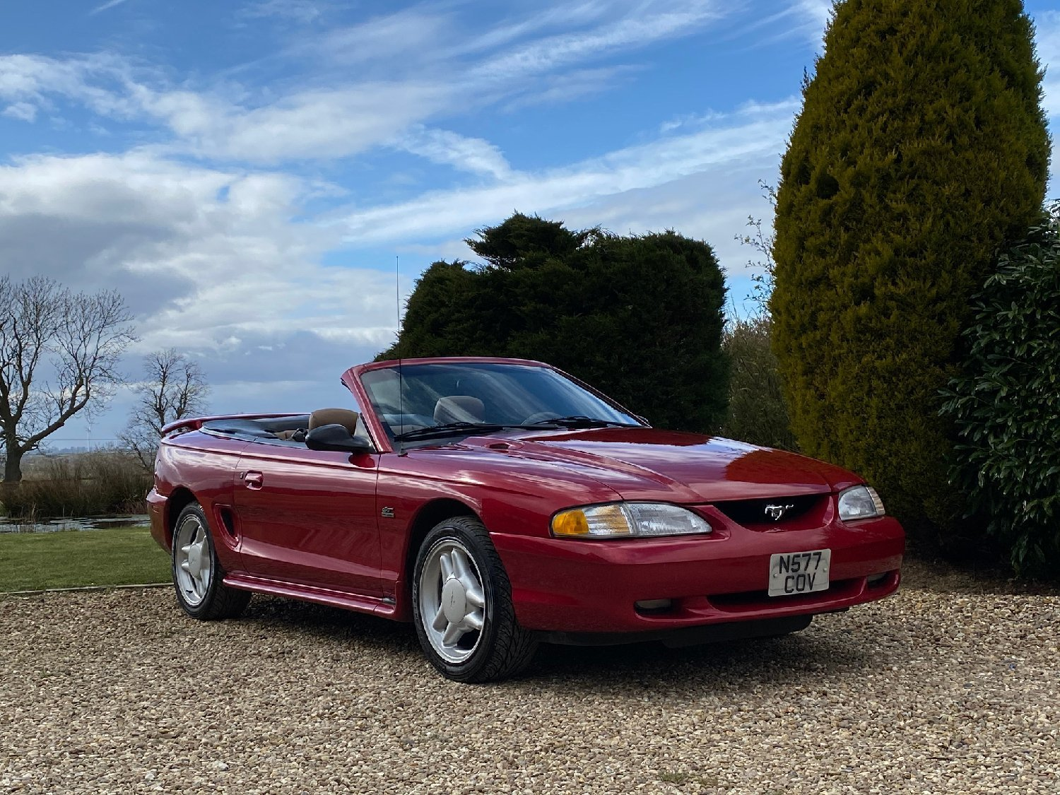 1995 Ford Mustang GT 5 Litre convertible  For Sale (picture 3 of 6)