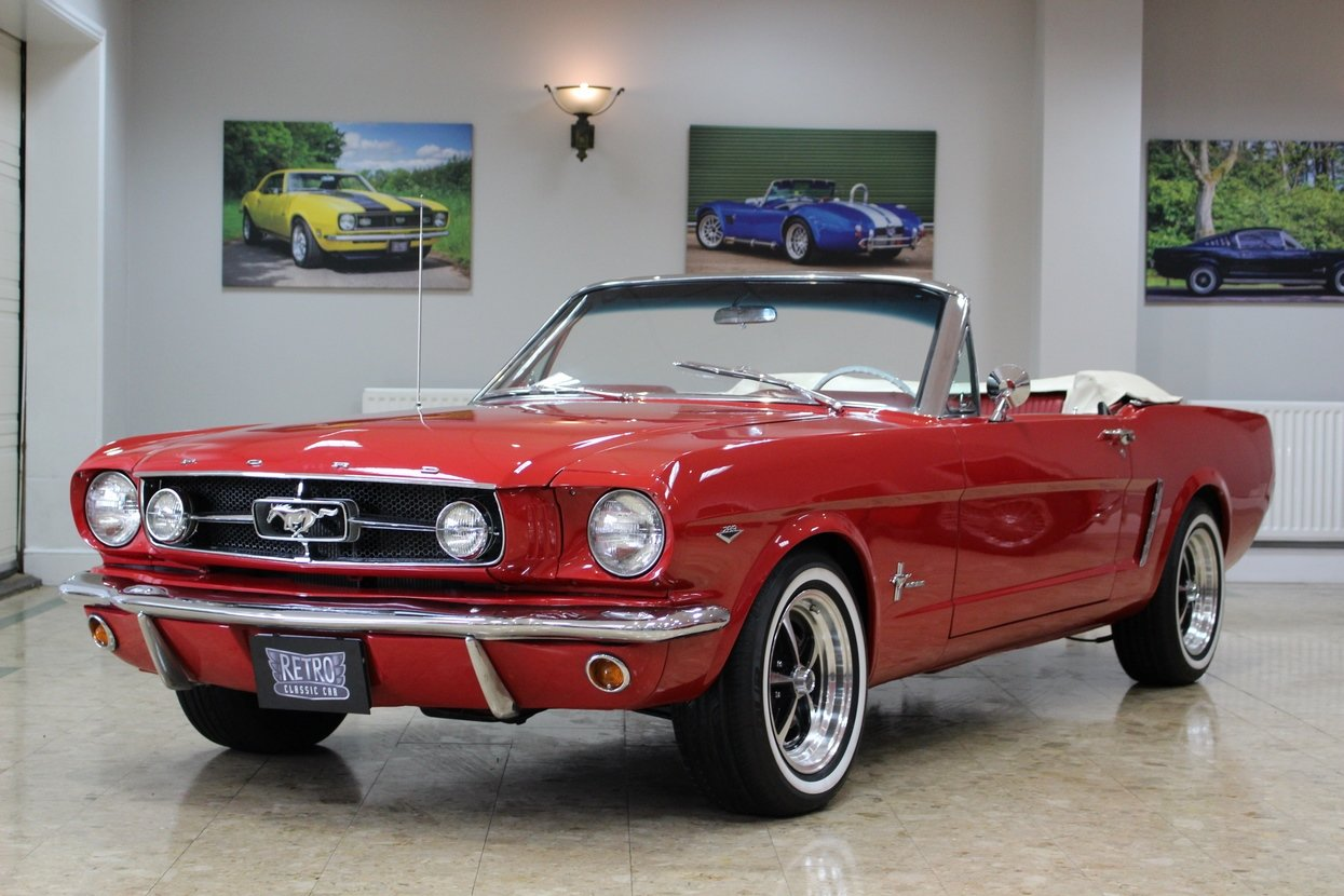 1966 Ford Mustang Convertible 351 V8 Auto | Huge Upgrades For Sale (picture 1 of 10)