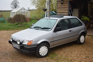 1990 Ford Fiesta 1600S low miles 30/5/20 SOLD by Auction