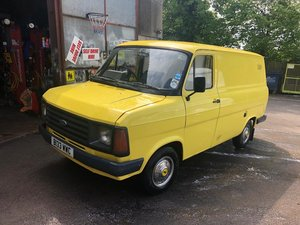 1984 1983 Ford Transit Mk 2 Di conversion 30/5/20 SOLD by Auction