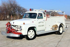 Ford F350,  Fire Engine with only 1,850 miles