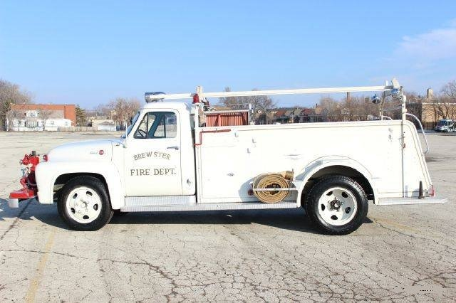1955 Ford F350,  Fire Engine with only 1,850 miles For Sale (picture 2 of 4)
