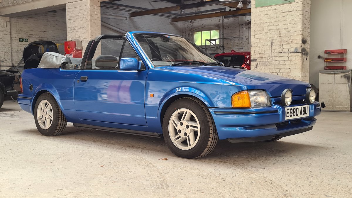 1988 Ford Escort XR3i Cabriolet (Mk4) SOLD (picture 1 of 19)