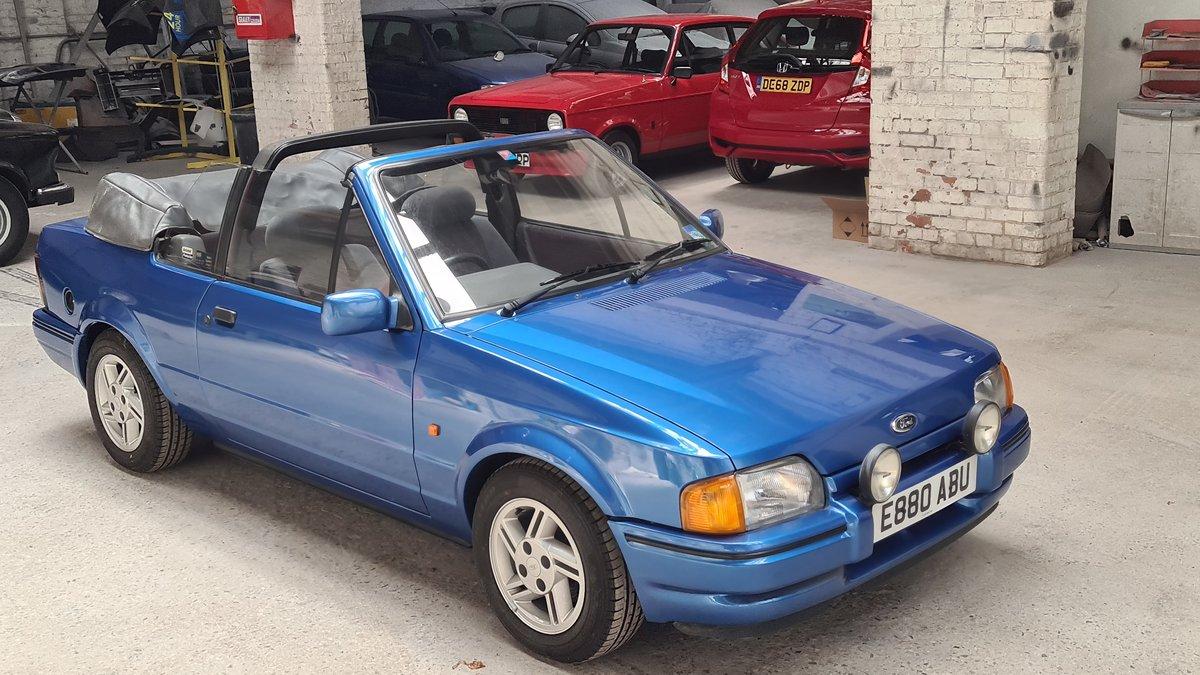 1988 Ford Escort XR3i Cabriolet (Mk4) SOLD (picture 2 of 19)