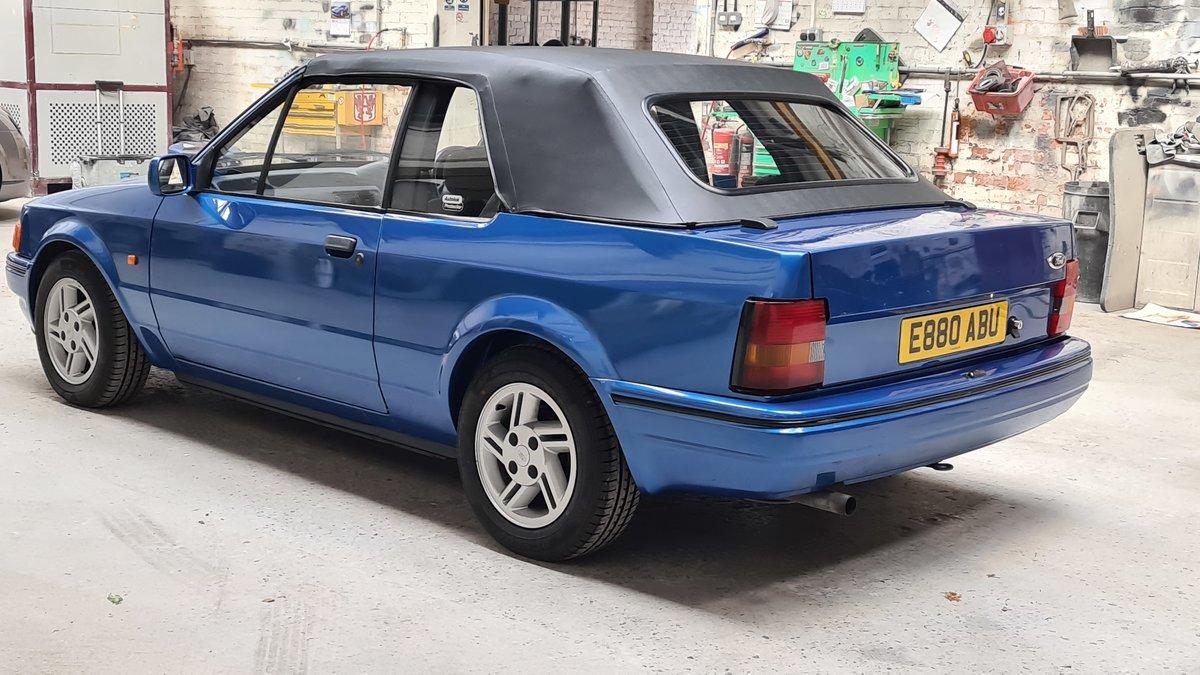 1988 Ford Escort XR3i Cabriolet (Mk4) SOLD (picture 8 of 19)