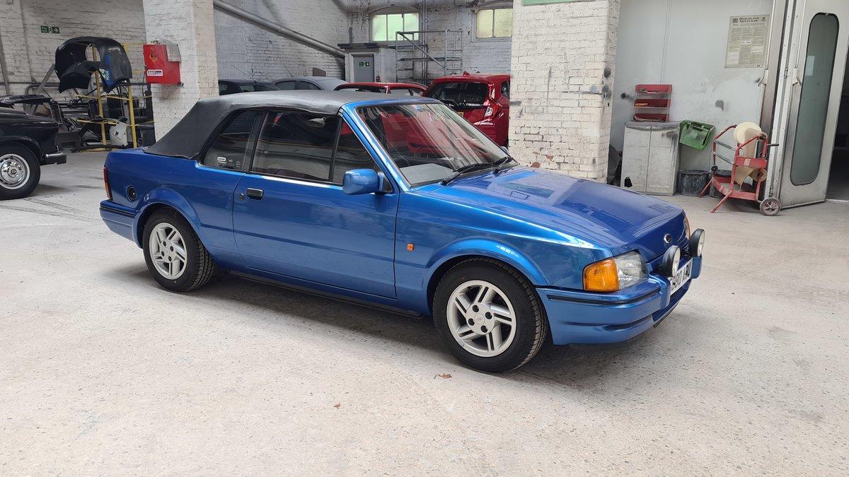 1988 Ford Escort XR3i Cabriolet (Mk4) SOLD (picture 10 of 19)