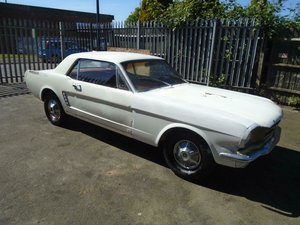 FORD MUSTANG 3.3 AUTO LHD COUPE (1965) SOLID CAR  For Sale